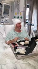 Robert after surgery
